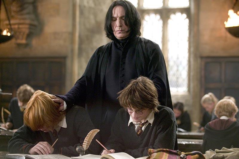Harry Potter Ron ve Snape