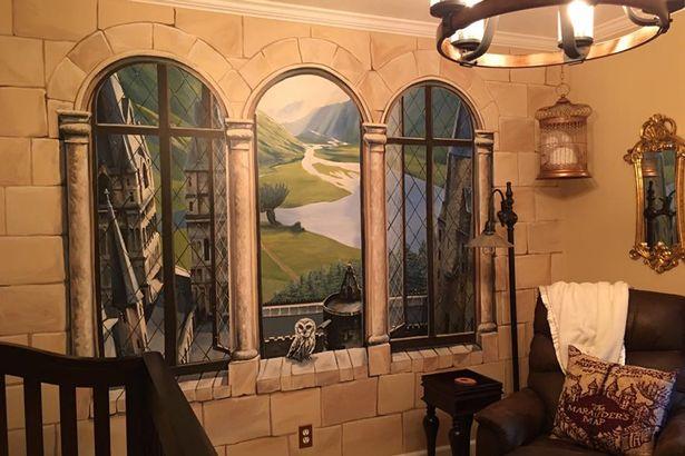 Harry Potter ev dekorasyon